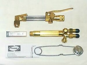 New Harris Cutting Welding Torch Set 71 3 Cutting Attachment Head 16 Handle Tip