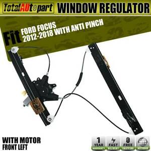 Window Regulator W Motor Anti Pinch Front Right For Ford Focus 12 16 751 829