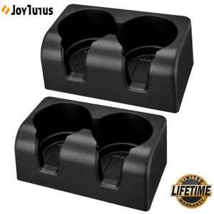 2pcs For Gmc Colorado Canyon 2004 2012 Bench Seat Cup Holder Insert Drink Cup