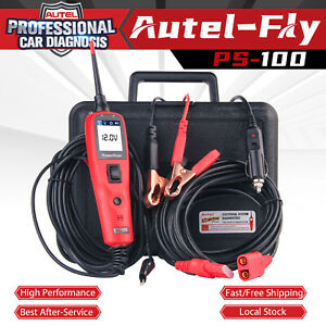 Autel Powerscan Ps100 12v 24v Electrical System Diagnostic Tool Circuit Tester