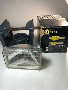 Pair H1 Headlights 6 5 X 4 Sealed Beam Head Light