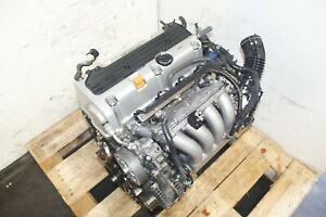 Jdm 2003 2007 Honda Accord Element K24a Engine 2 4l Dohc I vtec Motor Low Miles