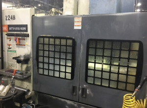 Mazak Mtv 515 40 With 4th Axis Used Cnc Vmc Fusion Control
