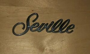 Oem Cadillac Seville Body Dash Emblem 11 4 Cm Vintage Original Car Part