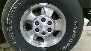 00 03 Chevy Tahoe 16x7 Aluminum alloy Wheel Rim no Tire Machined Finish