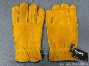 Westchester Protective Gear 3m Insulated 100 Leather Work Gloves