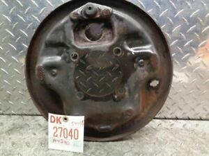 87 97 Ford F250 F350 Single Rear Wheel Right Rear Backing Plate 178535