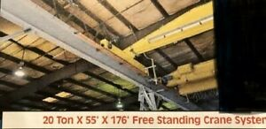 Free Standing Crane System not Including Bridge Crane Can Support 20 Tons