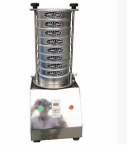Electric Vibrating Sieve Machine For Granule Powder Slice Different Screens B