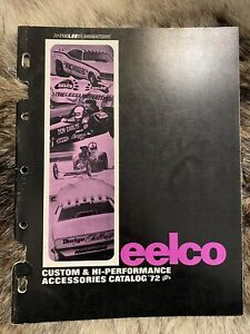 Eelco 1972 Original Vintage Speed Catalog Hot Rod Drag Racing Gasser
