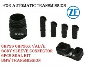 Zf 6hp26 6hp26x Valve Body Sleeve Connector Seal Kit 6 Piece Auto Transmission