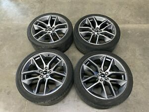 2015 2019 Ford Mustang Gt 5 0 20x9 0 Wheels tires 265 35 20 Set Of 4 Oem