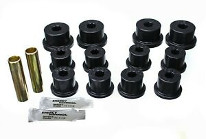 Leaf Spring Bushing Set Rear Energy 1 2101g Fits 1986 Suzuki Samurai