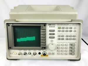 Hp Agilent 8563a Spectrum Analyzer 9 Khz To 26 Ghz Free Shipping