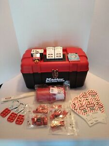 Master Lock Safety Series Lockout Kit New Open Box