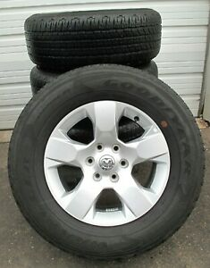 18 Factory 2019 2020 Ram 1500 6 Lug Factory Wheels And Goodyear Tires 2669 8 10