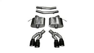 Corsa Performance 14358blk Xtreme Axle back Exhaust System Fits 16 17 Cts