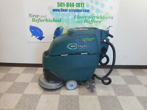 Tennant Nobles Ss17 20 Floor Scrubber 17 W New Batteries Charger