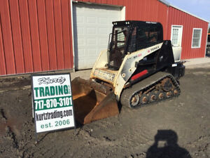 2011 Terex Pt50 Compact Track Skid Steer Loader W Cab Only 2500 Hours