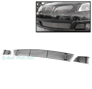 For 05 08 Pontiac Vibe Front Bumper Lower Billet Grille Grill Insert Replacement