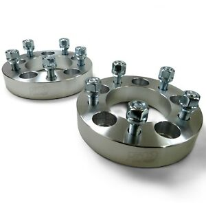 2 Qty Billet Aluminum Wheel Spacers 12x1 50mm Studs For 2000 2001 Chevy Camaro
