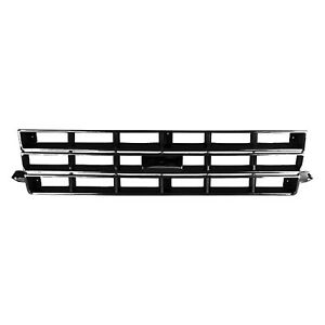 Gm1200370 New Grille Fits 1983 1990 Chevrolet S10 S10 Blazer 4wd
