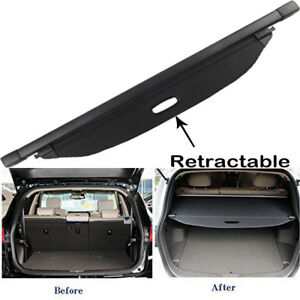 For 2014 2015 Kia Sorento Cargo Cover Luggage Security Rear Trunk Tonneau Shade