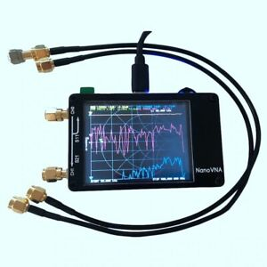Nanovna 50khz 900mhz Vector Network Analyzer Uhf Hf Vna Uv Vhf Antenna Analyzer