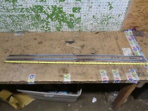 1960 Lincoln Continental Mark V Left Right Rear Window Moldings Trim Roof Oem