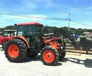 Kubota M9000 With Loader 4x4 free 1000 Mile Delivery From Ky