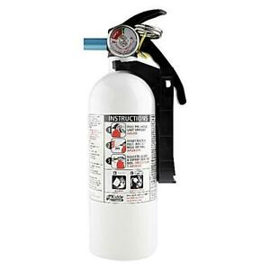 Fire Extinguisher Home Car Office Safety Kidde 5 b c 3 lb Disposable Marine New