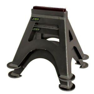 Joes Racing Products Jack Stands Stock Car Black pair P n 55500 b