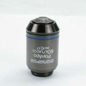 Olympus Planapo 60x 1 40 Infinity Corrected Oil Microscope Objective