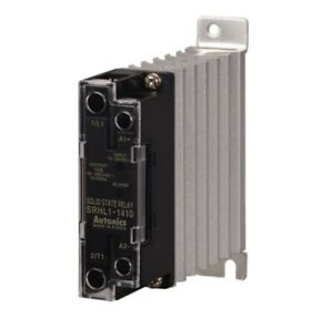 Autonics 1 phase Solid State Relay In Dc10 30v Load 48 480v Zero Cross Heatsink