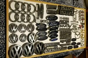 Lot Of Emblems Ford Toyota Gmc Lexus Audi Vw Etc