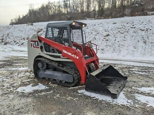 2015 Takeuchi Tl8 Compact New Rubber Track Loader Construction Hydraulic Machine