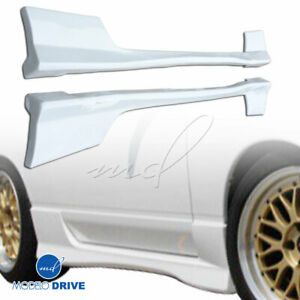 Frp Type x Side Skirts 2 3dr For Nissan 240sx 89 94 Modelodrive