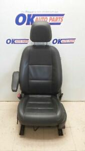 2015 Buick Encore Driver Left Front Bucket Seat Black Leather Power Memory Heat
