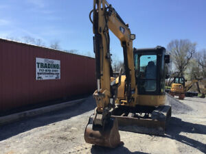 2011 Caterpillar 305 5dcr Hydraulic Mini Excavator W Cab Thumb Only 3400hrs