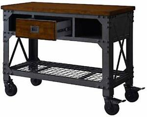 Whalen Wswb4819 2 48 Metal And Wood Work Bench