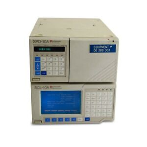 Shimadzu Spd 10a Vp Uv vis Detector With Scl 10a System Controller