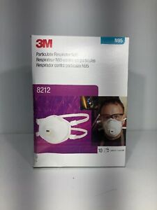 Particulate Welding Respirator 8212 N95 10 box Free Shipping