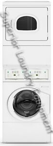 Huebsch Ytee5asp173tw01 Washer dryer Stack Electric Heated Opl Reconditioned