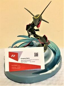 Dragon Rayquaza Pokemon Business Or Card Desk Display Stand