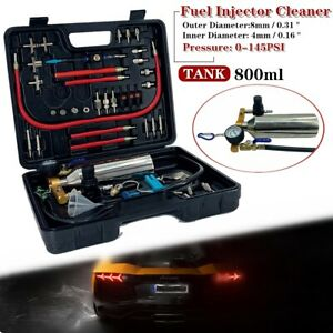 Non Dismantle Injector Cleaner Fuel System Cleaning Tool Kit For Auto 800ml