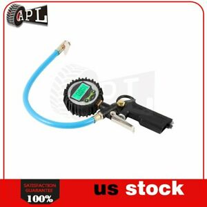 Lcd Tire Pressure Gauge Tire Inflator For Vehicle Air Tire Pressure
