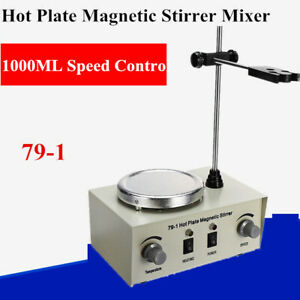 Magnetic Stirrer With Heating Plate Hotplate Digital Mixer Stir Bar Lab