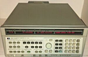 Agilent Hp 8341a Synthesized Sweep Signal Generator 10mhz To 20 Ghz Opt 004