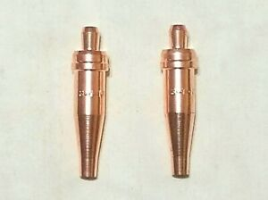 New Victor Style 3 1 101 Acetylene Cutting Torch Tip Lot Of 2 St2600fc Ca2460