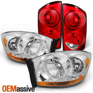 Fit 07 08 Dodge Ram 1500 2500 3500 Headlights Tail Lights Replacement